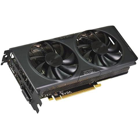 EVGA 02G-P4-3755-KR NVIDIA GeForce GTX 750 Ti 2GB - Tarjeta gráfica (Activo, ATX, NVIDIA, GeForce GTX 750 Ti, GDDR5, PCI Express 3.0)