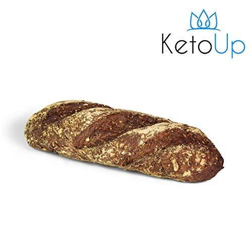 KetoUp: 3 frische Low Carb Röstzwiebelbaguettes | Ketogene und Low Carb Ernährung | maximal 3% Kohlenhydrate - 3 x 320g | Versandkostenfreie Lieferung in Deutschland ab Bestellwert von 25€ (Lieferung Diät Frische)