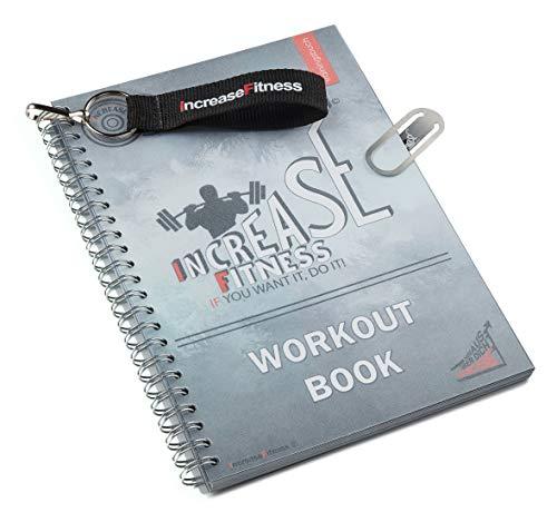 IncreaseFitness© Trainingsbuch   Fitness Tagebuch   Trainingstagebuch fürs Gym, Fitnessstudio, Krafttraining   DIN A5   Erfolgskontrolle sowie Trainings- und Ernährungstipps