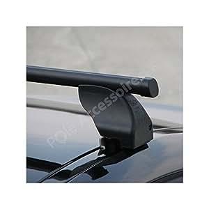 Barres de toit FIAT ULYSSE [06/1994 -- 08/2002] LANCIA ZETA [05/1995 -- 09/2002] PEUGEOT 806 [06/1994 -- 08/2002] RENAULT ESPACE 3 [11/1996 -- 10/2002] points de fixation intégrés