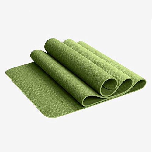 Tasteless environnement Tpe Yoga MatThickening élargissement antidérapante Mat MatFitness Mat Sit-ups Yoga (8mm10mm 6mm d'épaisseur) (5 couleurs en option)