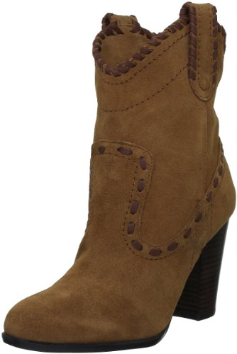 Buffalo 411-10173, Stivaletti donna marrone (Braun (Cow Suede Tan 96))
