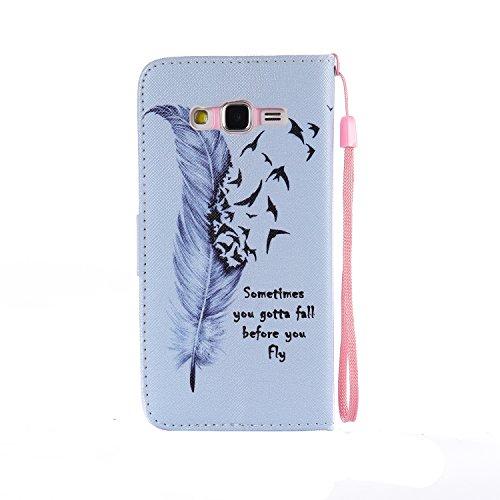 Samsung G530Glitzer Spiegel TPU Hülle [mit gratis Displayschutzfolie + 1STYLUS PEN]–Newstars Fashion Schöne Luxus 3D Handgefertigt Diamant Glitzer Bling Soft Shiny Sparkling mit Glas Spiegel Backp B- Feeding Girl Series 3