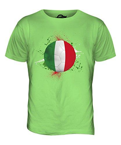 CandyMix Italien Fußball Herren T Shirt Limettengrün