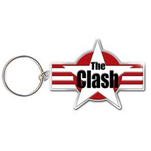 The Clash Metall Schlüsselanhänger Star Logo (Rock-star-logos)