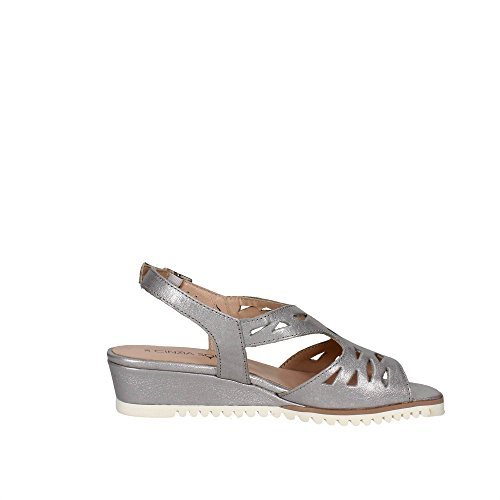 Cinzia Soft IV6851-GG 001 Sandale Femme Argent