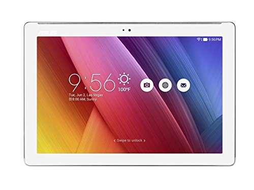 "Asus Z300M-6B050A ZenPad Tablet da 10"" HD, Processore Quad Core 1,3 GHz, Capacità 16 GB, RAM 2 GB, Bianco Perla"