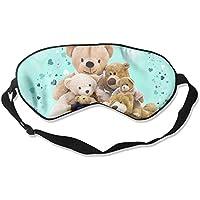 Lovely Teddy Bear Family 99% Eyeshade Blinders Sleeping Eye Patch Eye Mask Blindfold for Travel Insomnia Meditation preisvergleich bei billige-tabletten.eu