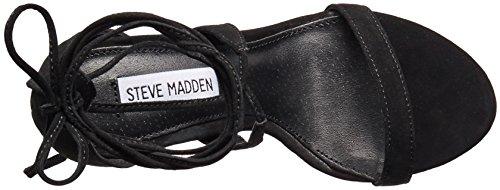 Steve Madden Presidnt Daim Sandales Black