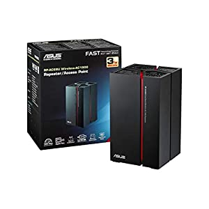 Asus Dual Band Repeater black, red black, red