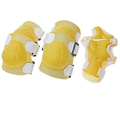 Gelb, für Ellenbogen, Knie und Handgelenk, verstellbar)