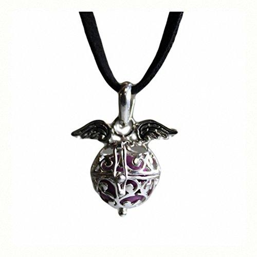 Angel Wings & Bell - Lavendel