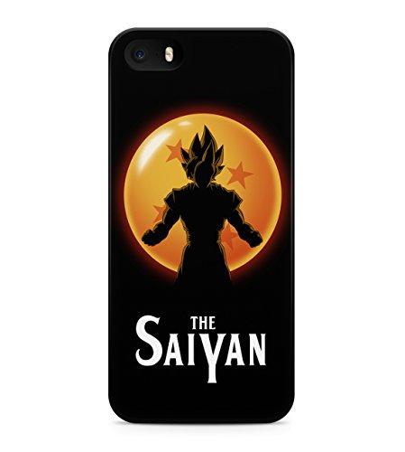 Dragon Ball Z Goku The Saiyan Hard Plastic Snap On Back Case Cover For iPhone 5 / 5s Custodia
