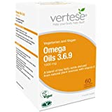 Vertese Omega Oils 3.6.9 60 Vegetable Capsules (Pack of 1)