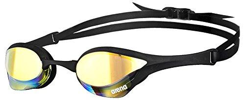 Arena Schwimmbrille Cobra, verspiegelt, für Erwachsene, Unisex, Gelb (Yellow Revo), Einheitsgröße (Ausrüstung Buceo)