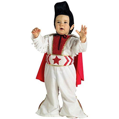 Chiber - Rock Star Kostüm - Baby Mädchen (13-18 Monate) (Elvis Baby Halloween-kostüme)