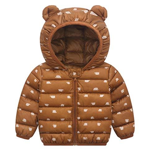 LEXUPE Prämie Reine Baumwolle Set Kleidung, Neugeborenes Baby Strampler Star Kleidung Sets, Hosen Tops Hut Cute Jumpsuit Outfit Body(C-Braun,100)