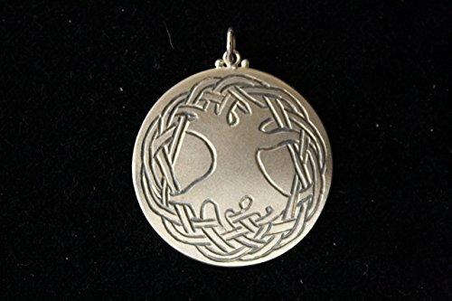 Keltischer Lebensbaum 925 Silber Symbolschmuck