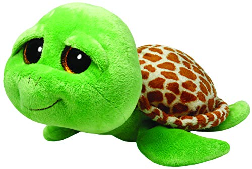 "Beanie Boo Turtle - Zippy - Green - 41cm 16"""