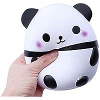 Panda Squishies Jumbo, Scoolr Slow Rising Squishy Slice Kawaii Squishy Panda Toy Cream Scented Slow Rising Hand Wrist Toy Fidget Toy Think ink Toy Color Random