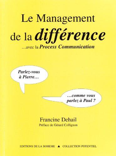Le management de la différence...Avec la Process Communication