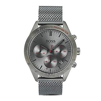 Hugo Boss Reloj Cronógrafo para Hombre de Cuarzo con Correa en Acero Inoxidable 1513637