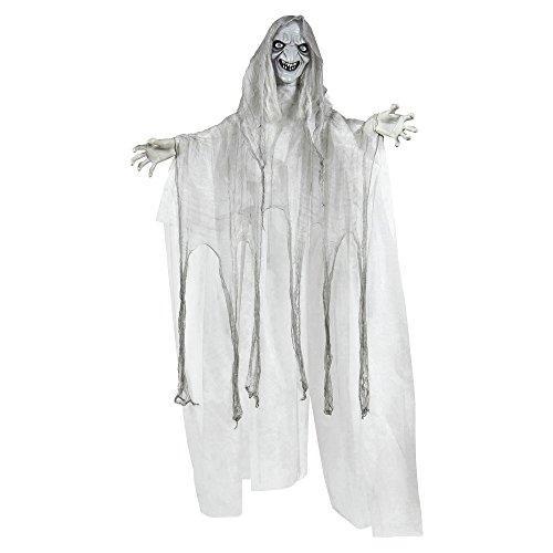 ende Hexe mit farbwechselnden Augen, erschreckende Töne, Größe circa 153 cm (Sonidos De Brujas Halloween)