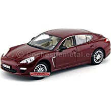 2013 Porsche Panamera 4S Turbo Granate 1:18 MZ Models 2017 Cochesdemetal.es