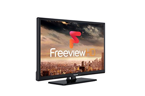 Panasonic TX-24D302B 720p HD Ready LED TV with Freeview HD  2017 Model  - Black  Certified Refurbished