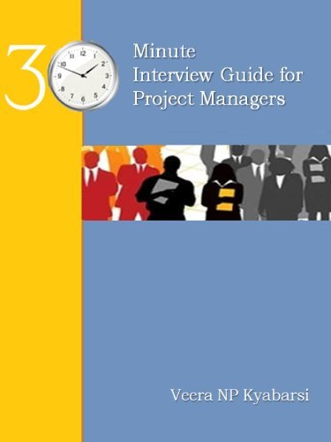 30 Minute Interview Guide for Project Managers