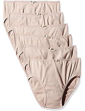 AVET 3267 Braguita algodon Pack x 6, Mujer