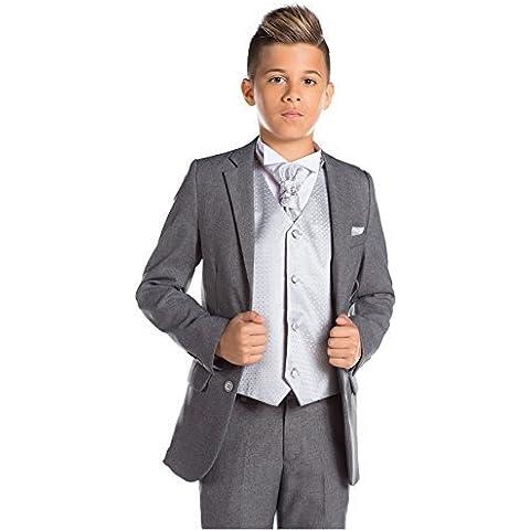 Paisley of London, colore: grigio, per ragazzi segue, taglio Slim segue di onore segue, ragazzo, taglia: 12-18 mesi 13 anni