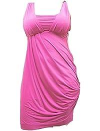 Miss Sixty rosa fucsia cuerpo con elástico vestido