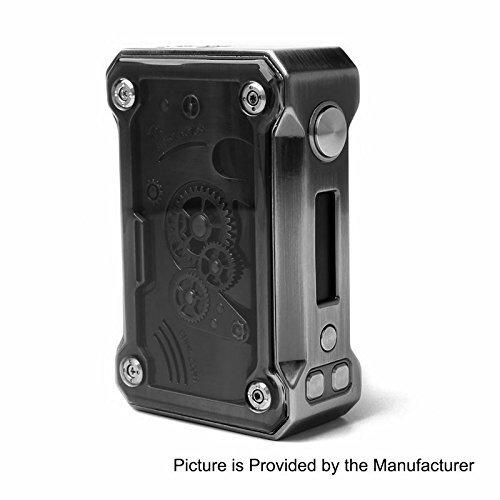 Authentische Tesla Punk 220W Akkuträger Box Mod Farbe mit Unishow Pouch (Black)