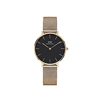 Daniel Wellington Classic Petite Melrose DW00100161 – Reloj Unisexo, 32 mm
