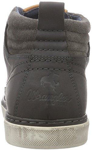 Wrangler Billy, Desert boots homme Gris (56 Dk. Grey)
