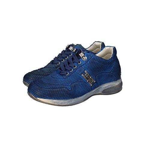 cesare-paciotti-4us-sneakers-bambina-31-eu-blu-pelle-pitonata-dz86