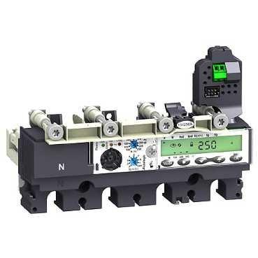 SCHNEIDER ELEC PBT - PAC 55 10 - UNIDAD CONTROL MICROLOGIC 6 2-E 160A 4 POLOS 4R