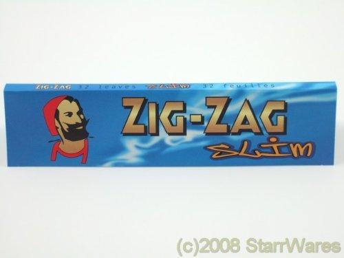 Zig Zag Blau Slim Zigarettenpapier King Size Stopfgerät-10Pakete