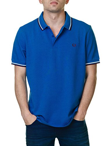 Polo Fred Perry Blau - Atlantic marl