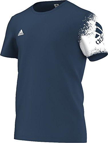 Poly Tee (adidas Performance Herren Fußball Herren 's X Poly Tee, Tecste - Größe: S)