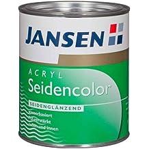 Jansen Acryl Seidencolor RAL 8017 - Pintura acrílica (2,5 l), color