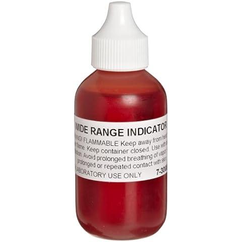 American Educational Wide Range pH Indicator Solution, 2oz Capacity