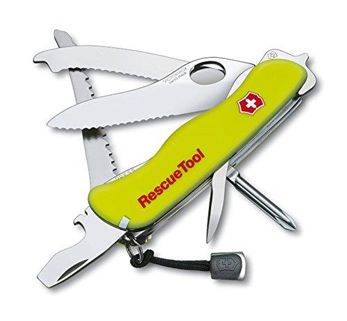 Zoom IMG-2 victorinox rescue tool coltellino giallo