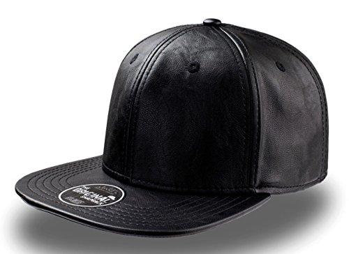 snap-eco-leather-noir-casquette-snapback-the-original-slang-rappeur-hip-hop-trendy-snap-back-cap-bon