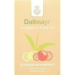 Dallmayr Aromatisierter Grüntee Zitrone Grapefruit, 2er Pack (2 x 100 g)