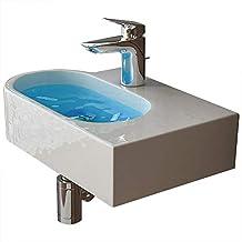 design handwaschbecken aus keramik als hange und aufsatzwaschbecken geeignet