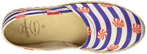 MISS HAMPTONS Lollipop, Espadrilles femme multicolore (MUTICOLOR)