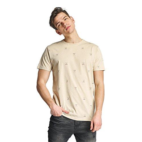 Cazzy Clang Herren Oberteile / T-Shirt Saint Barth Beige