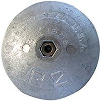 "Tecnoseal r2al timón ánodo–aluminio–2–13/16""diámetro"